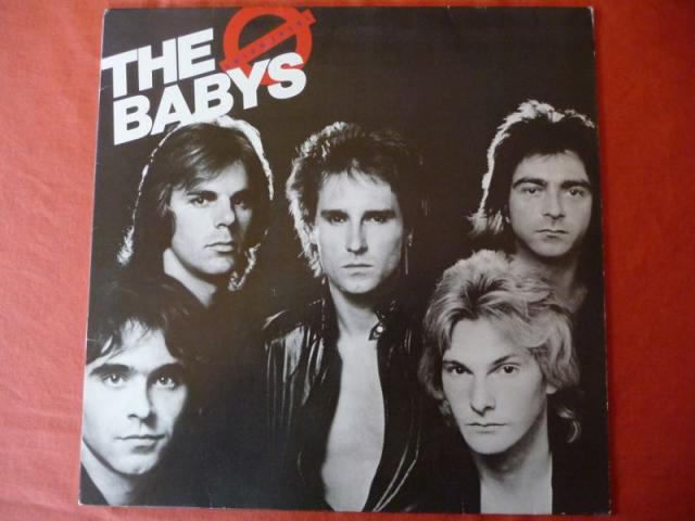 image Vinyl THE BABYS  UNION JACK