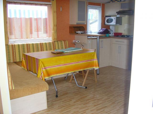 image Mobil home 3 chambres 2 piscines animations camping 4*