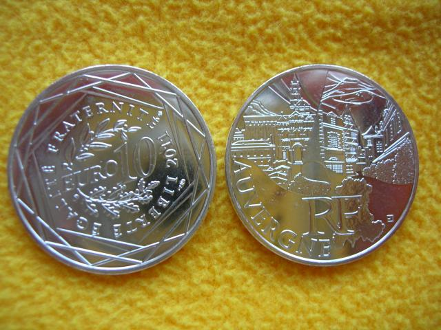 image 10 EURO ARGENT COLLECTION 2011