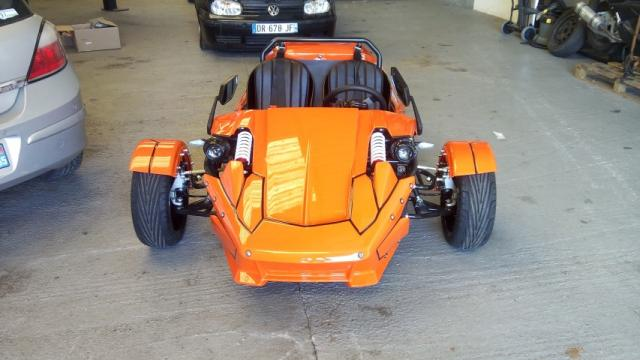 image Buggy trike ZTR 250cc roadster 4 vitesses + mar