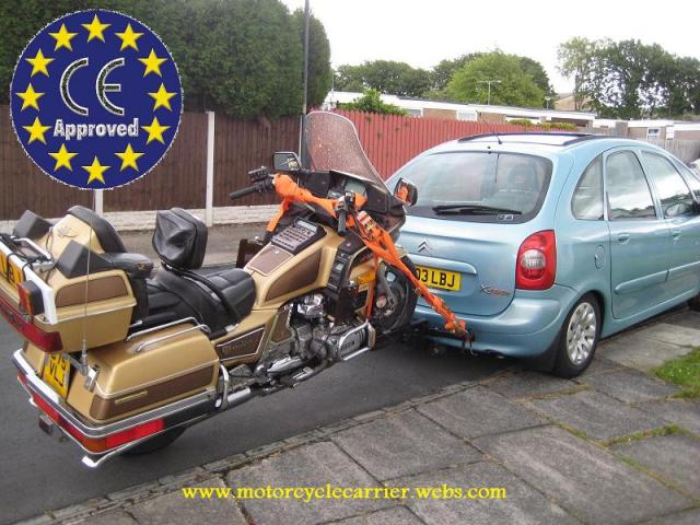 """image REMORQUE MOTO/TRIKE/SCOOTER """"BIKE CARRIER"""" NEW IN EUROPE"""