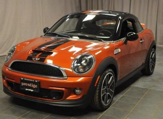 image MINI COUPE II 2.0SD 143 Cooper pack red hot Chili automatique