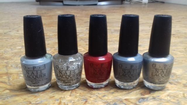 image 5 vernis OPI collection 50 shades of Grey