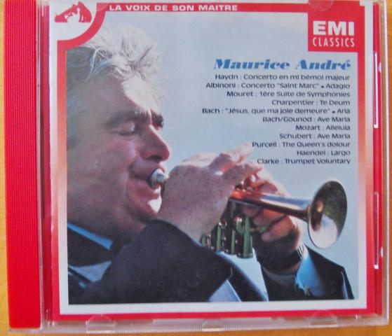 image CD Maurice ANDRE
