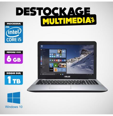 image Asus VivoBook X202E-CT006H Tactile 1,50 GHZ 500 GO 4GB WIN 10